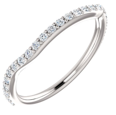 122192 Fitted Wedding Band