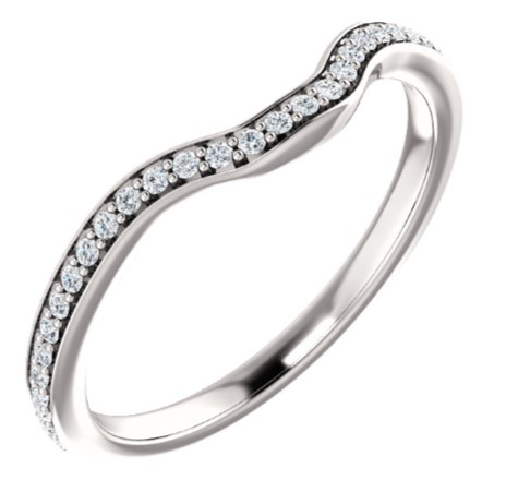 122349 Fitted Wedding Band