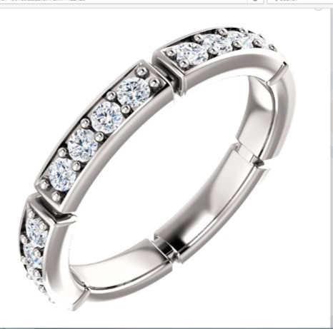 122728 Wedding Eternity Band