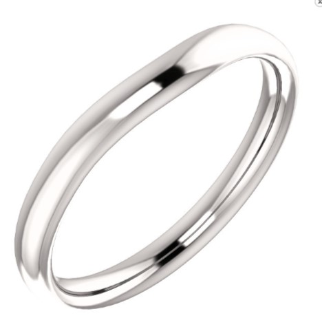51309 Fitted Plain Band