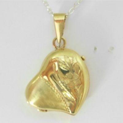 Puff Heart Locket