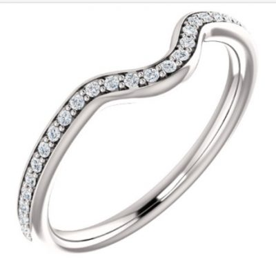 122153 Fited Wedding Band