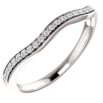 122156 Fitted Wedding Band