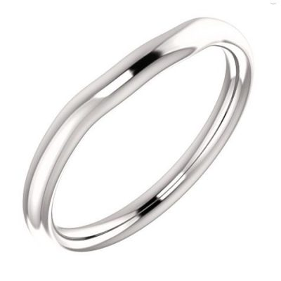 51226 Fitted Plain Wedding Band