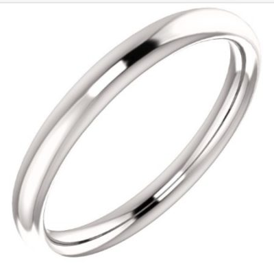 51355 Fitted Wedding Band