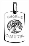 family tree tag mens