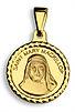 mary mckillop australias saint medal charm pendant