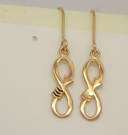Infinity Arrow Earrings