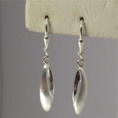 Drop Silver Earrings