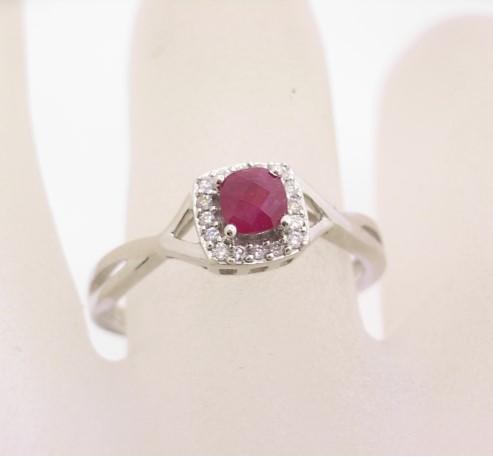R11465 Ruby Ring
