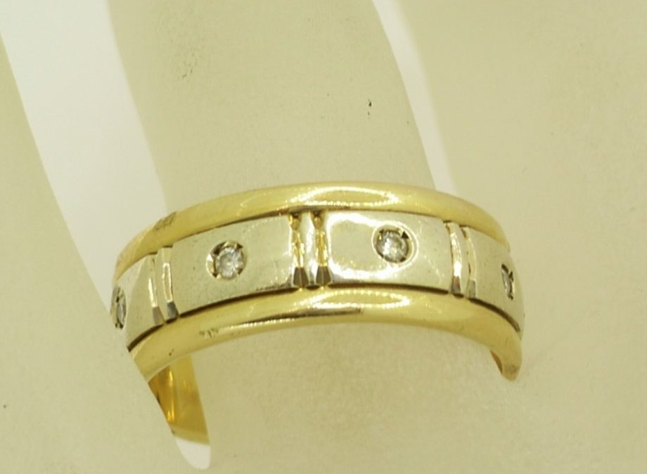A14786 Gents Wedding Ring
