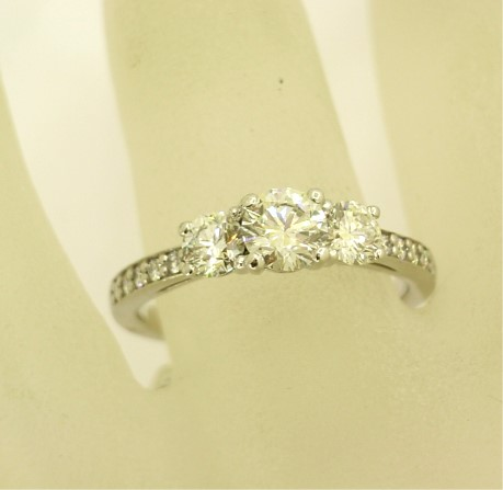 R11545 Trilogy Style Ring