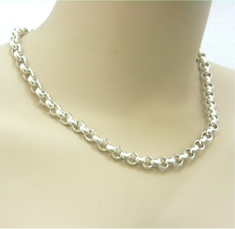 A14817 Belcher Link Necklace