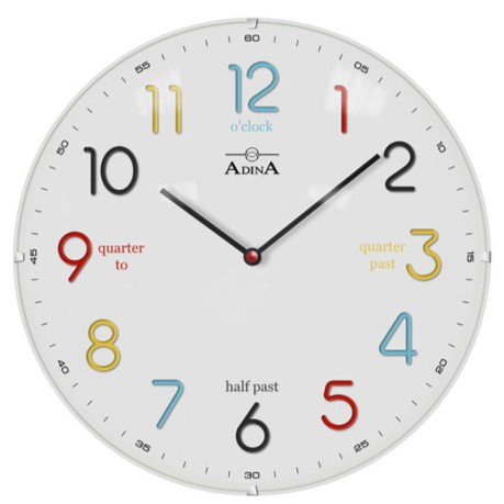 ADINA WALL CLOCK CL17-A6897