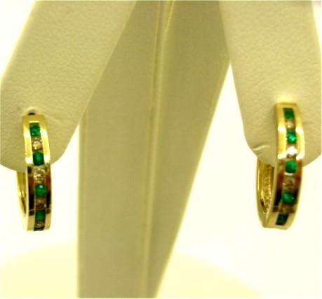 G32798 Emerald Earrings