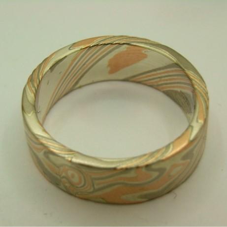 R11479 Mokume Ring