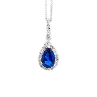 Blue Drop Pendant