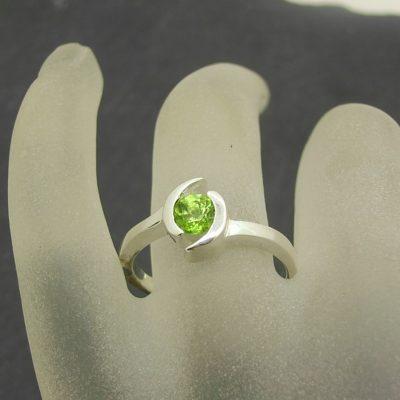 Peridot Nurturing Ring
