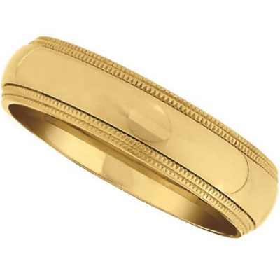 Golden Titanium Ring