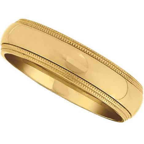 Golden Titanium Ring