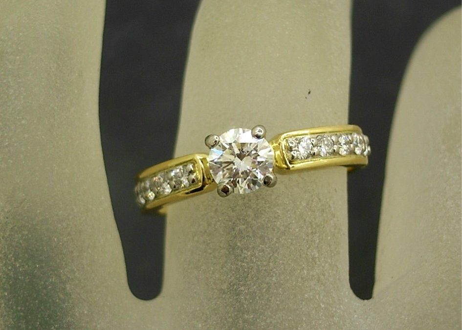 G32950 Diamond Engagement Ring
