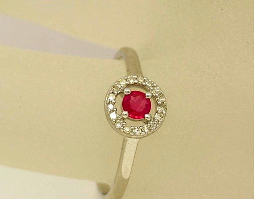 R11524 Ruby Ring