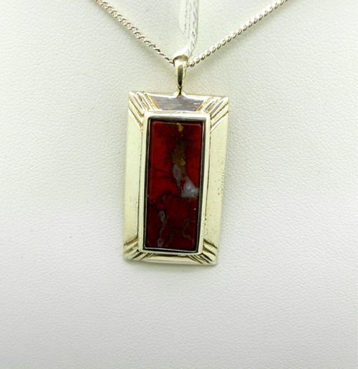 Iron Stone Pendant