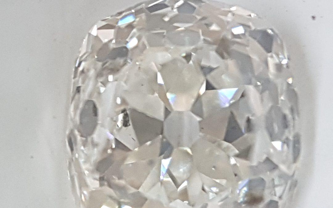 Vintage Mine cut 1.29ct diamond
