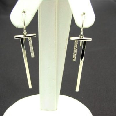 T Bar Earrings