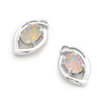 I14623 Opal Earrings