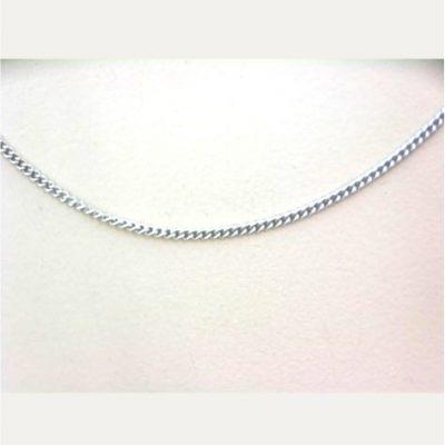 White Curb Chain