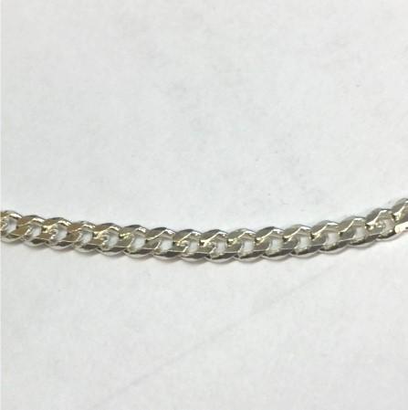 Hammered Curb Chain