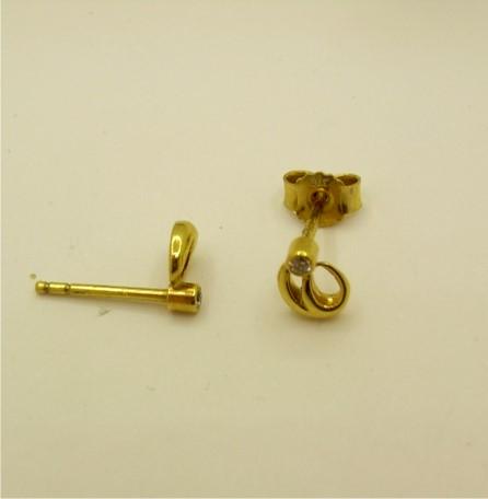 Open Swirl Earrings