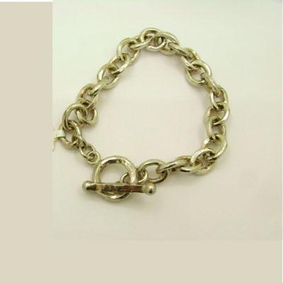 Silver Fob Bracelet