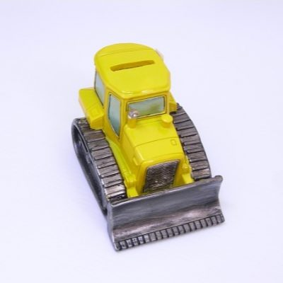 Bulldozer Money Box