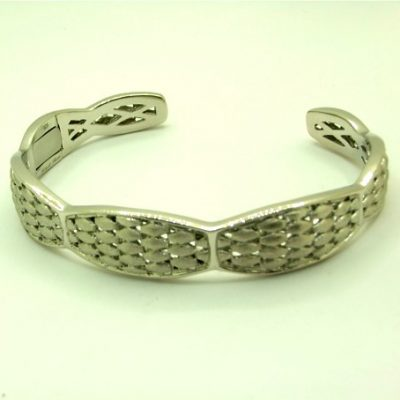 Lattice Cuff Bangle