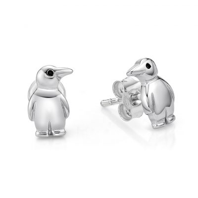 Penguin Stud Earrings