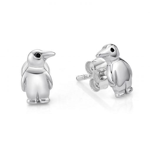 Penguin Stud Earrings
