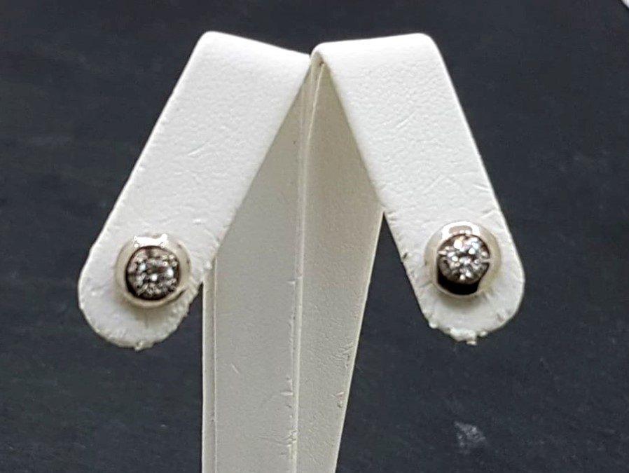 G34069 Diamond Stud Earrings