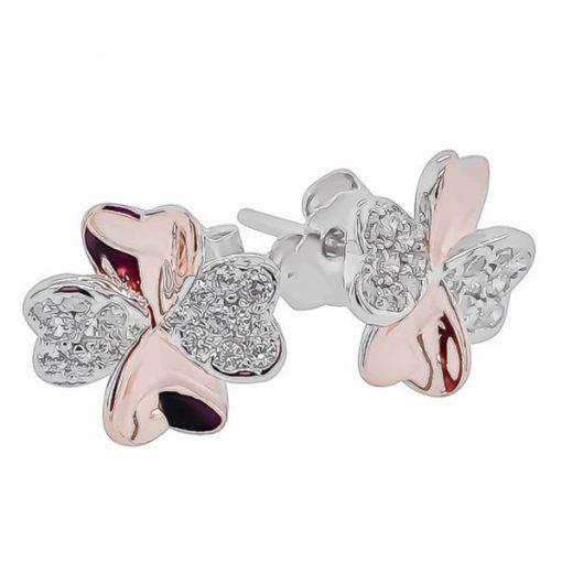 4-Leaf Clover Earrings