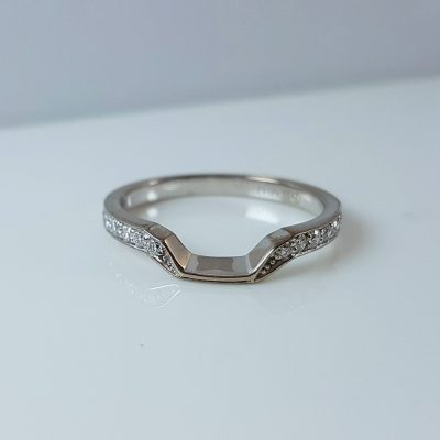 Fitted Diamond Ring