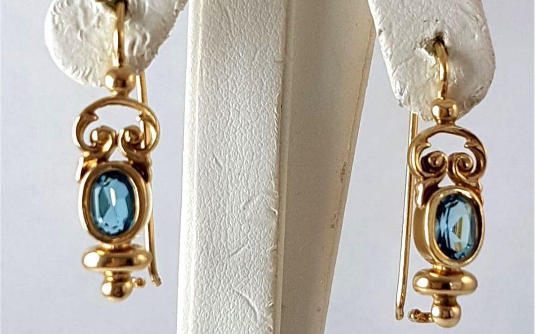 G34361 Topaz Earrings