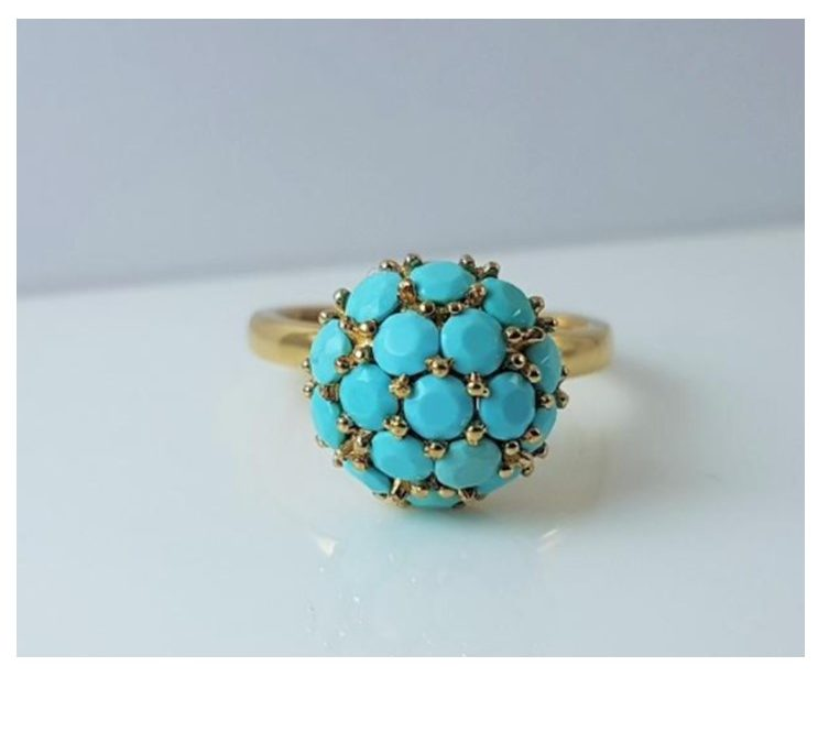 R11577 Turquoise Ring