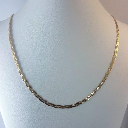 Plaited Necklace