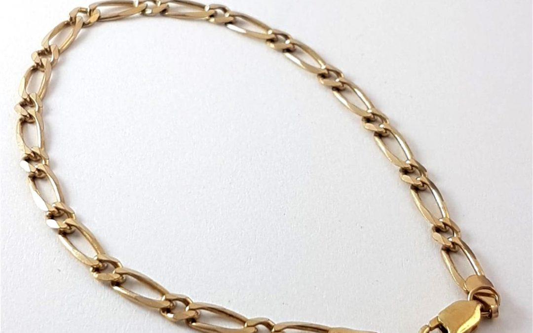 G34738 Figaro Bracelet