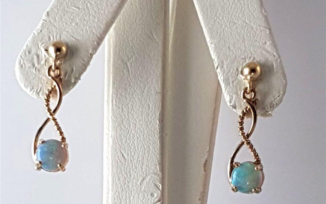 A15146 Opal Drop Earrings