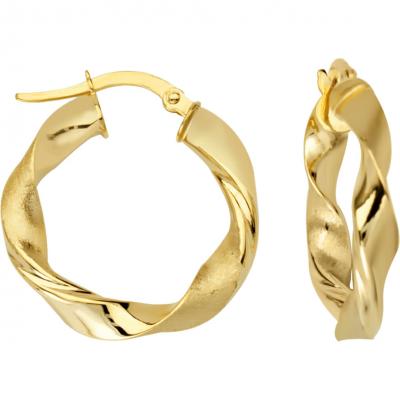 Twist Ribbon Earrings